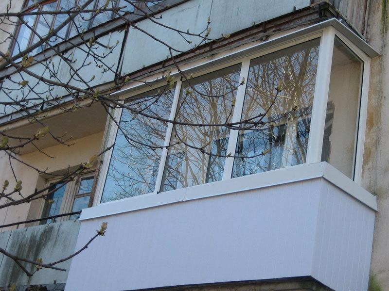 Фото остекление балконов, остекление лоджий.