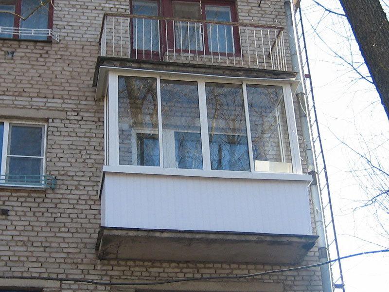 """Остекление балкона профилем """"provedal"""" фото остекление балко."""